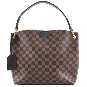 Louis Vuitton Shoulder Graceful Pm Damier Hobo Bag